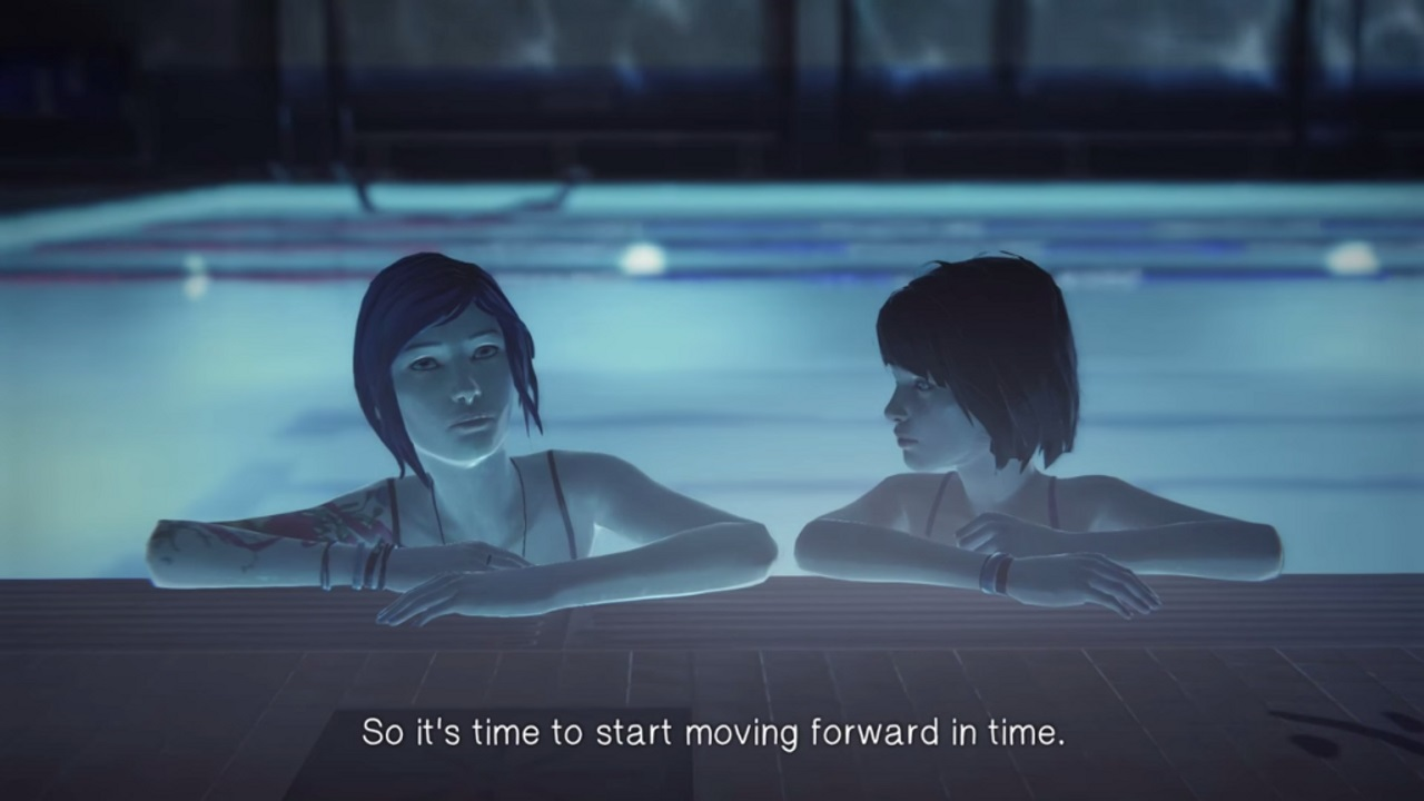 Le temps de se dire adieu life is strange merlanfrit for Amour dans piscine